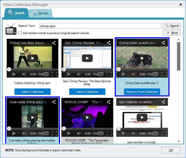 Chimp Rewriter 3 Preview - Part 2 - Content, Image and